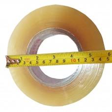 Скотч упаковочный, 1000м*45мм, прозрачный
