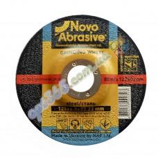 Круг зачистной по металлу НовоАбразив 125х6х22