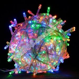 Гирлянда домашняя 500 LED, цветная