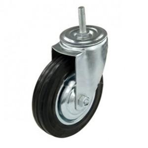 Колесо поворотное со штырем 75 мм
