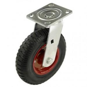 Литое колесо поворотное 200 мм