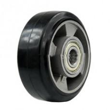 Колесо с алюминиевым диском 125 мм