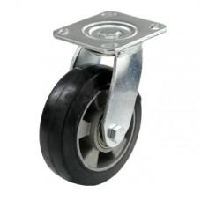 Колесо алюминиевое с кронштейном поворотным 150 мм