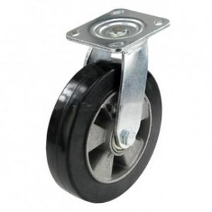 Колесо поворотное с алюминиевым диском 200 мм
