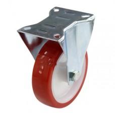 Колесо полиуретан с кронштейном 125 мм