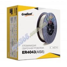 Сварочная проволока (алюминий) ER4043,  d-0,8 мм, 2 кг