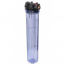 Колба фильтр Вig Вlue 20 Slim, 1/2, ключ, крепление