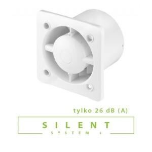 Вентилятор бытовой Awenta System+ Silent KWS T 125 мм.