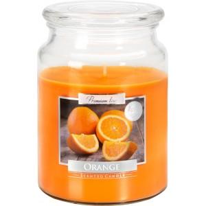 Ароматизированная свеча Апельсин Bispol