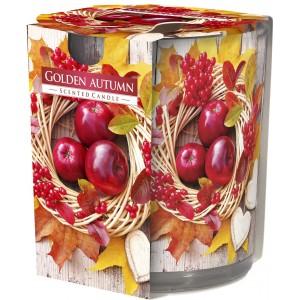 Ароматизированная свеча Золотая осень Bispol