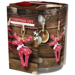 Ароматизированная свеча Праздничный подарок Bispol