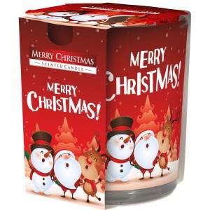 Арома свеча С Рождеством Христовым Bispol