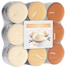 Арома свечи Ванильное печенье Bispol,18 штук