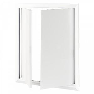 Двери ревизионные двойные Домовент 400х400