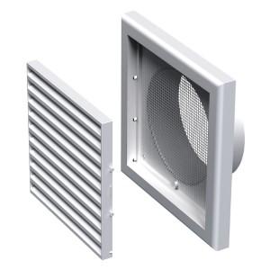 Вентиляционная решетка Вентс МВ 100 ВС