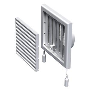 Вентиляционная решетка Вентс МВ 100 ВРС