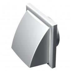 Вентиляционный клапан уличный Вентс МВ 102 ВК, белый, бежевый, коричневый