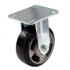 Колесо алюминиевое с кронштейном 100 мм.