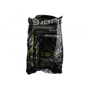 Камера на мопед бутиловая 3.00-17, SunSon
