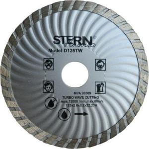 Круг отрезной Turbo Stern, 125 мм