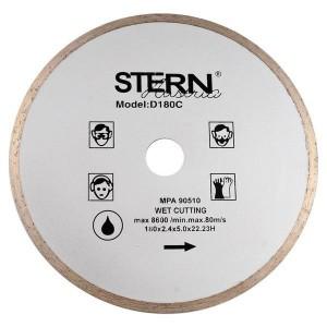 Круг алмазный для плитки Stern, 180 мм