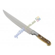 """Нож кухонный """"Костяная ручка"""" № 8, лезвие 195 мм"""
