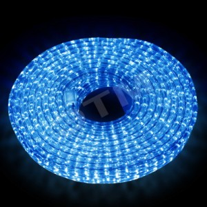 Гирлянда Дюралайт, Шланг 10 метров, синяя