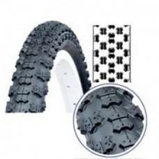 Покрышка для велосипеда 14x2.125, (57-254) Deli Tire S-101