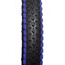 Покрышка на велосипед 14x2.125, (57-254) Cascen с синей полосой