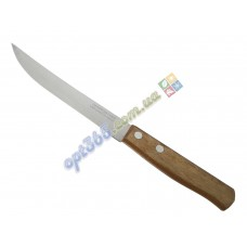 """Нож кухонный """"Трамонтина"""" ровный, деревянная ручка, 21 см"""