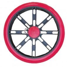 Колесо для тележки силиконовое на защелке, 160 мм.