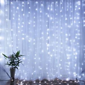 Гирлянда Водопад 3х2 м, белая 320 LED