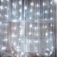 Гирлянда Водопад белая 2х2 м, 240 LED, 8 мм