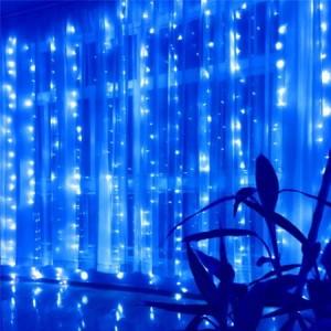 Гирлянда Водопад синяя 3х3 м, 480 LED, 5 мм