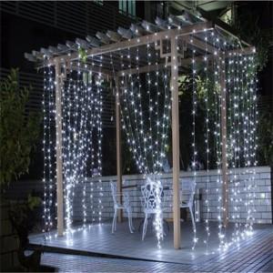 Гирлянда Водопад белая 3х3 м, 480 LED, 5 мм