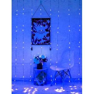 Гирлянда Штора синяя 2х2 м, 240 LED 5 мм