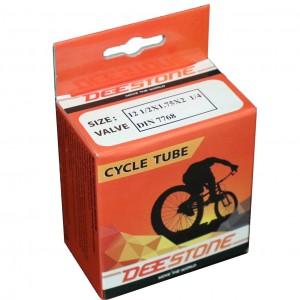 Велосипедная камера 12x2.125 Deestone, угловой вентиль