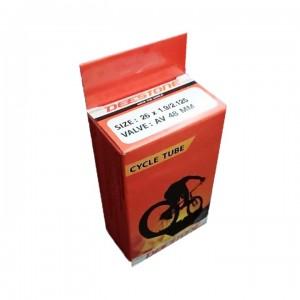 Камера велосипедная 26x1.95/2.125 Deestone A/V 48 mm