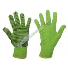 Перчатки рабочие ХБ с ПВХ напылением, плотные 10-G