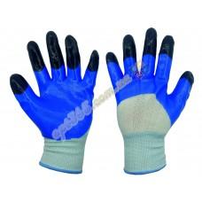 Перчатки рабочие, стрейч, ПВХ покрытие (нитрил), 1 сорт С-Ч