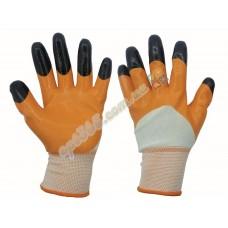 Перчатки рабочие, стрейч, ПВХ покрытие (нитрил), 1 сорт О-Ч