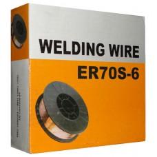 Сварочная проволока ER70S-6, d-0,8 мм, 5 кг